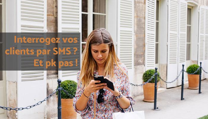enquete par sms