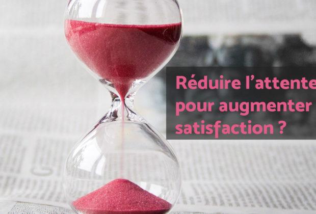 reduire attente service client